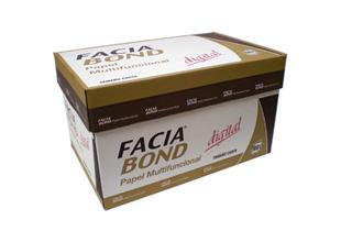 PAPEL COPIADORA FACIA BLANCURA 99% 75 GR CARTA C/5000