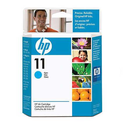 TINTA HP 11 CYAN INKJET 2250C